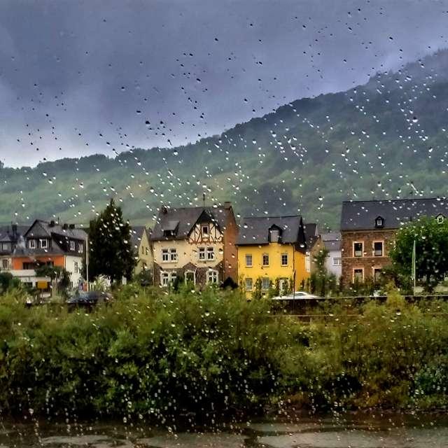 Regentropfenwettrennen