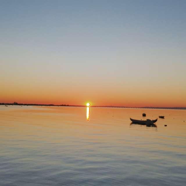 Portuguese Sunset in Alcochete