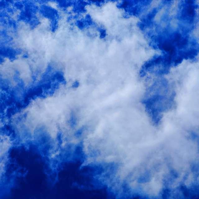 Blue Sky, White Clouds