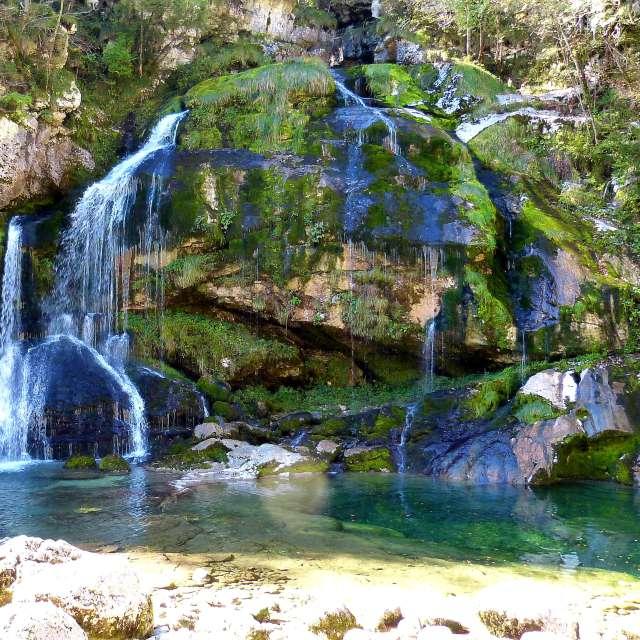 Slap Virje - Virje Wasserfall