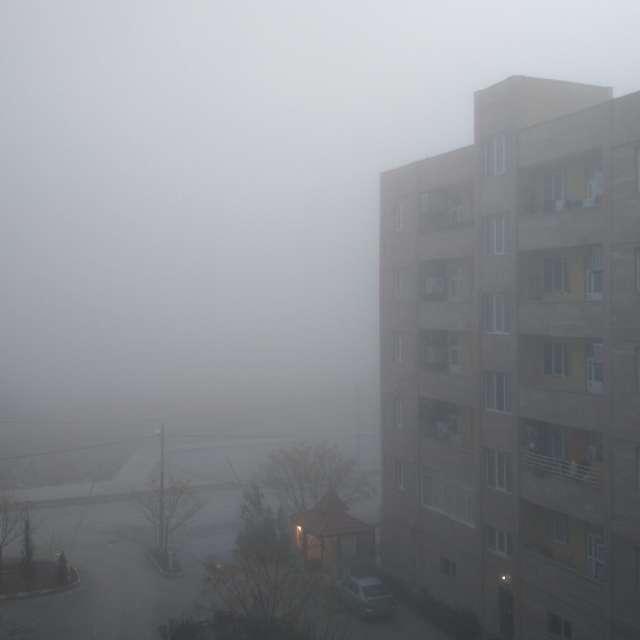 مه خیلی غلیظ
