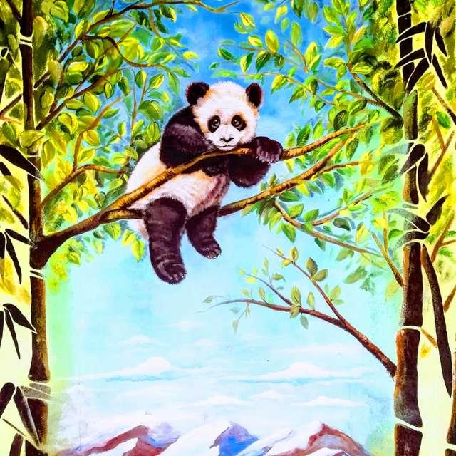 Panda Wallpicture