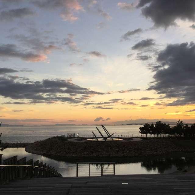 KIX Park in Sun Set