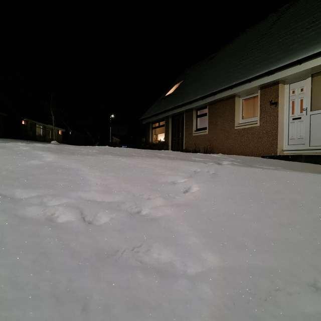 Una noche de nevada
