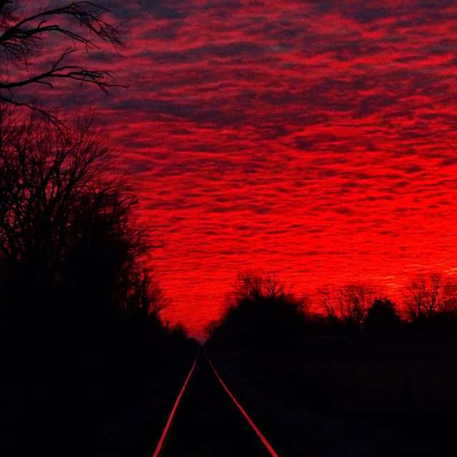 Red Morning Sky