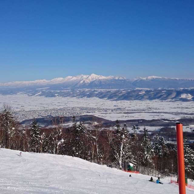 富良野スキー場から