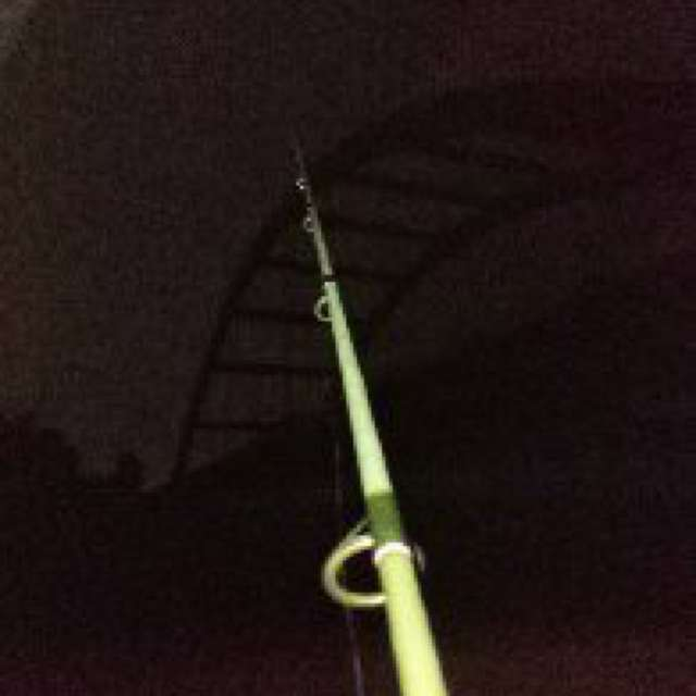 Night time Crappie fishing