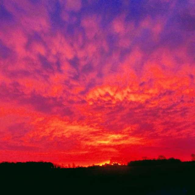 Beautiful April Sunrise