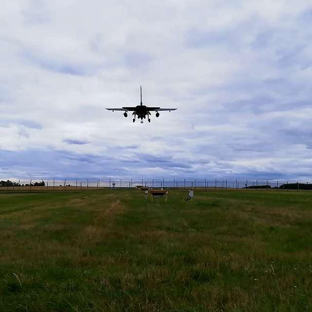 MRCA Tornado Landing