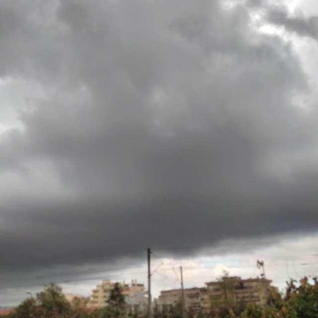 Autonme fin après-midi nuageux
