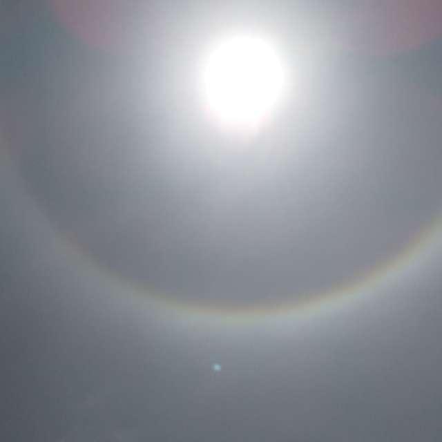 大陽の暈 halo