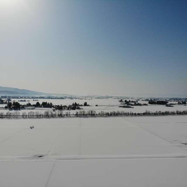真冬の晴天
