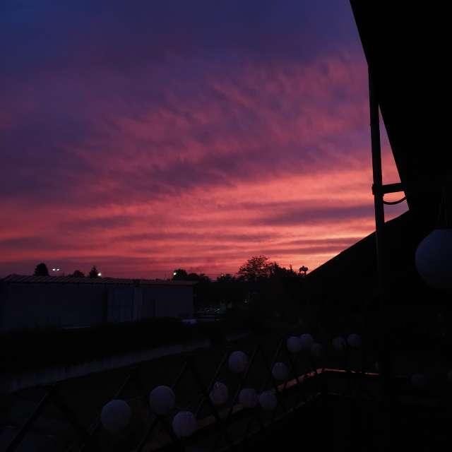 Sunrise in Mariano Comense