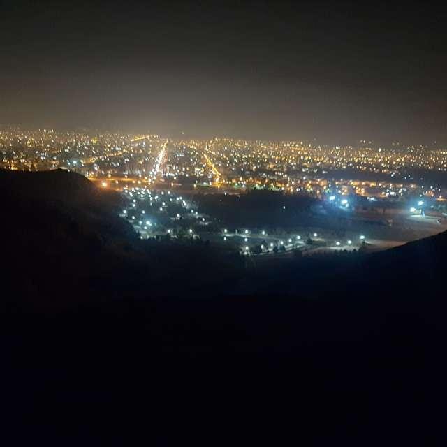 آسمان شب نجفآباد