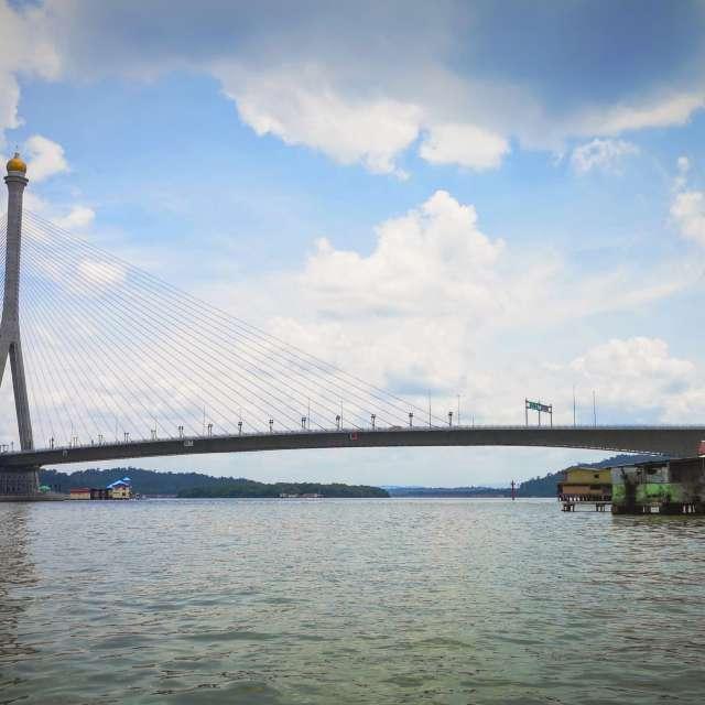 Hajah Saleha Bridge - Brunei