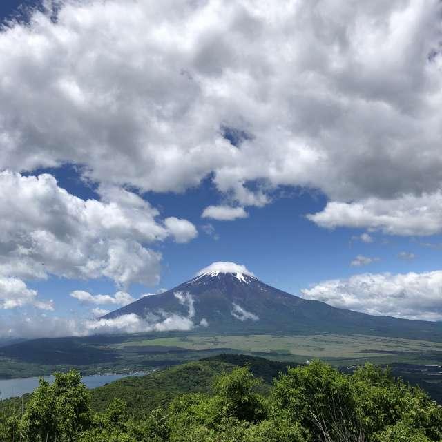 石割山山頂からの富士山
