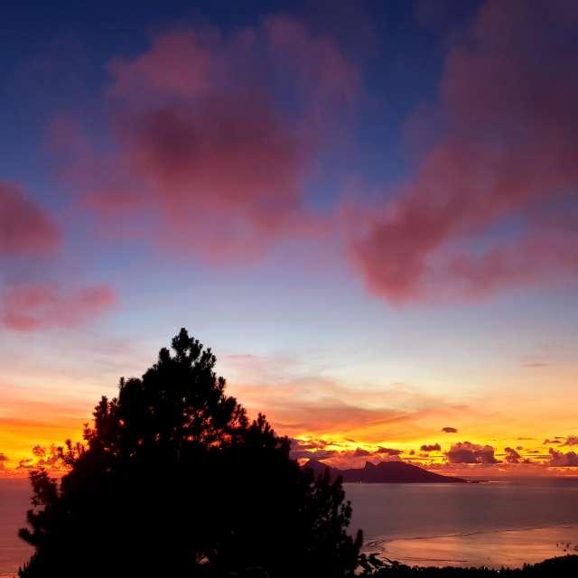 Sunset @ Tahiti