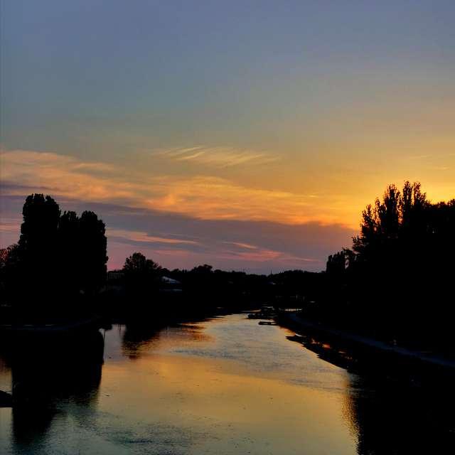 Egy csodás naplemente