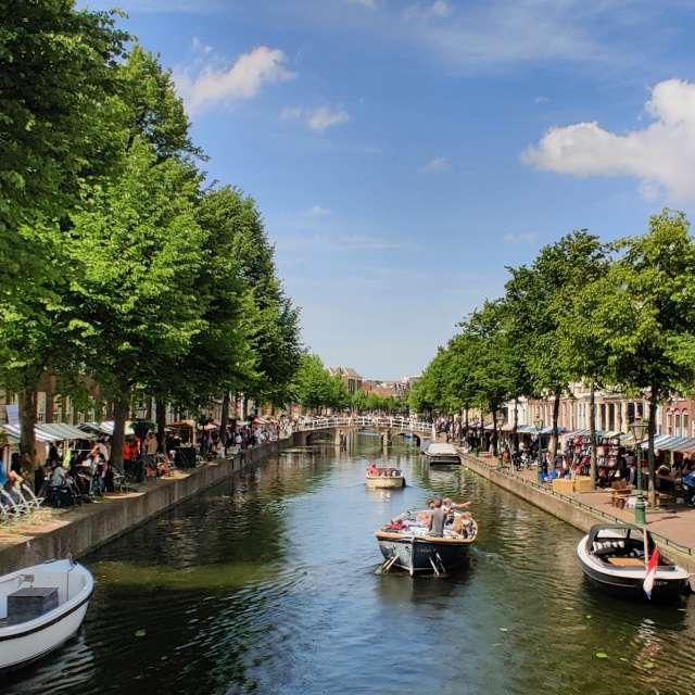 Rapenburg Leiden  Netherlands