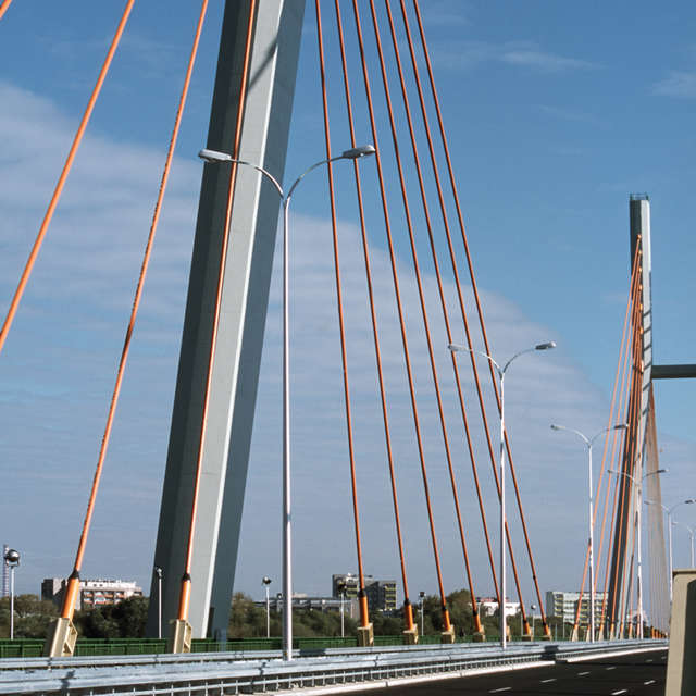 bridge on the Vistula river