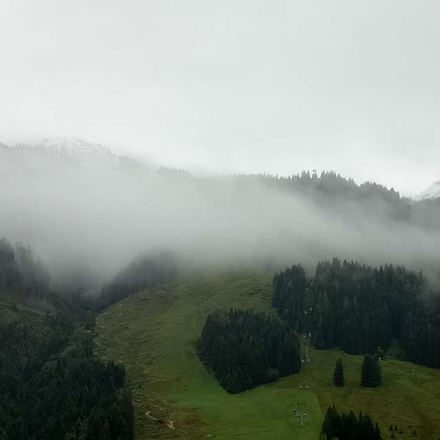 First Snow in Summer-Saalbach