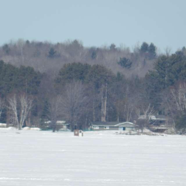 Lake Superior Ice Fishermen
