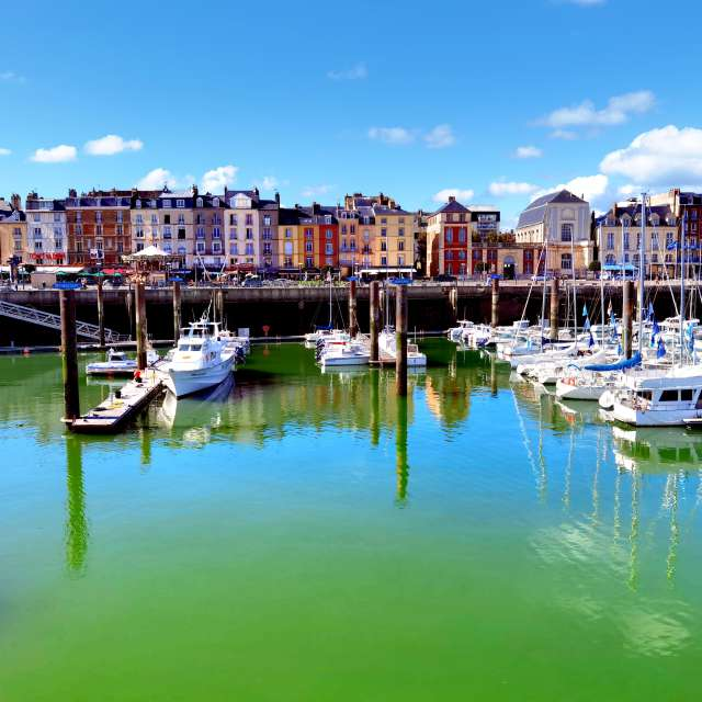 Port of Dieppe, France
