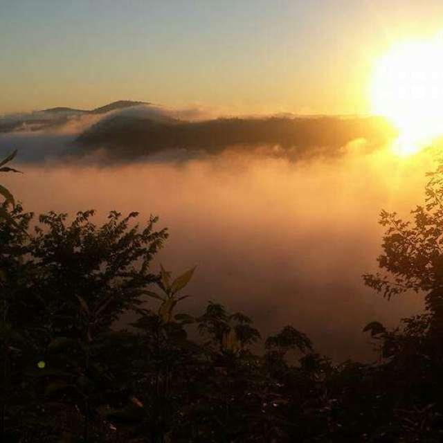 Sun rise in TN