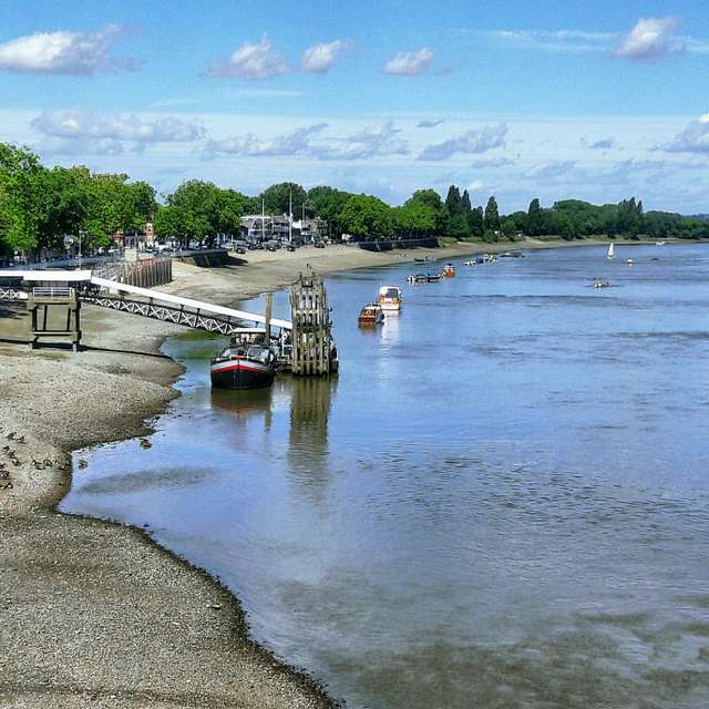 Low Tide at Putney