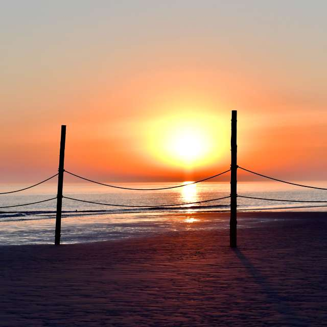 Sonnenaufgang Wooge