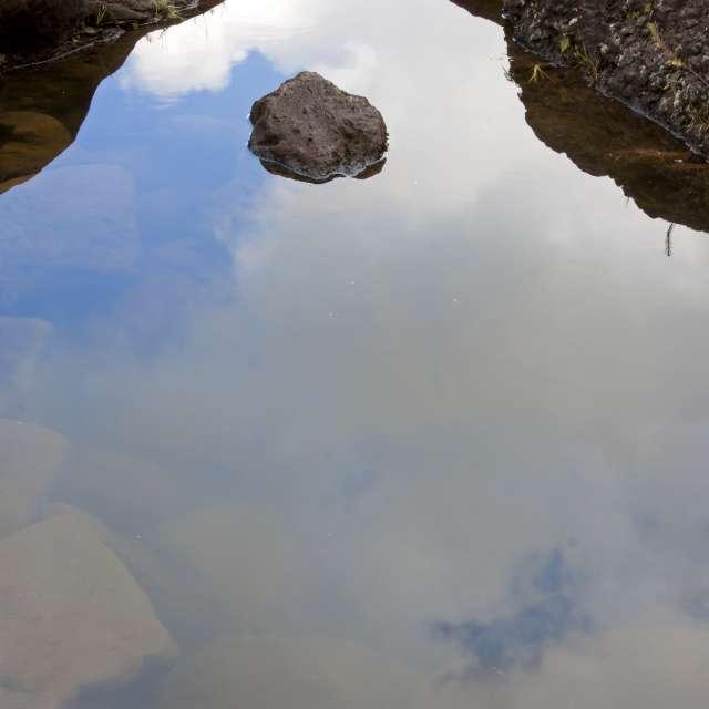 Reflective illusion