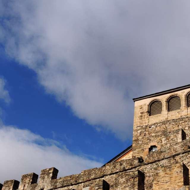 muralla Castillo templario.
