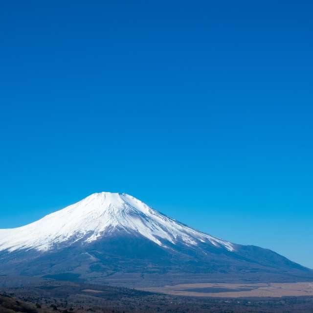 富士山をパノラマ台から