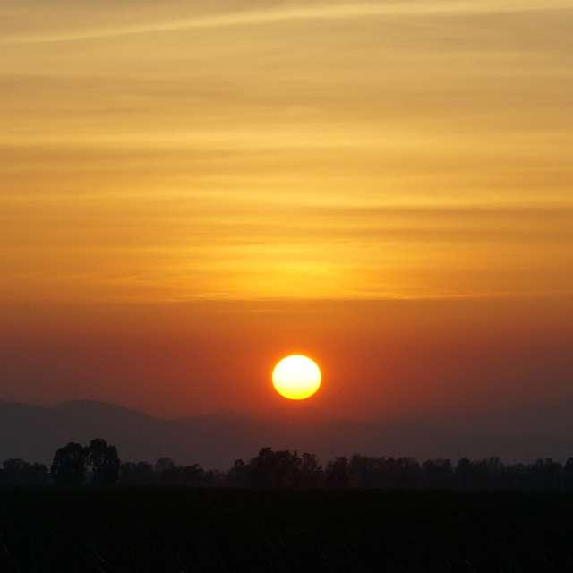 Sunset at Sam Roy Yot Park