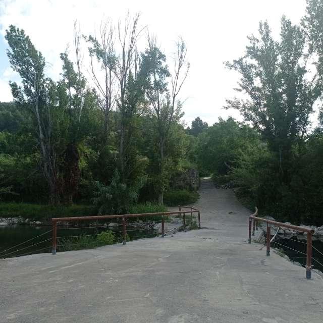 Puente río Mijares
