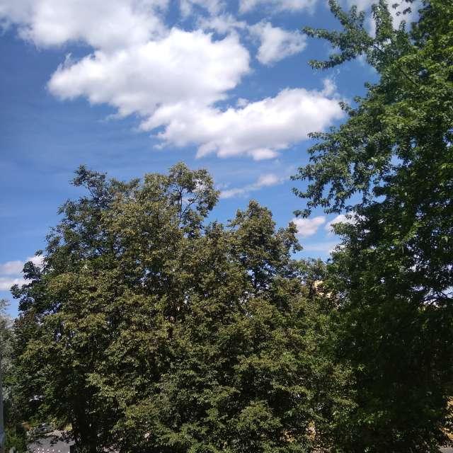 Piękne ziemia i niebo