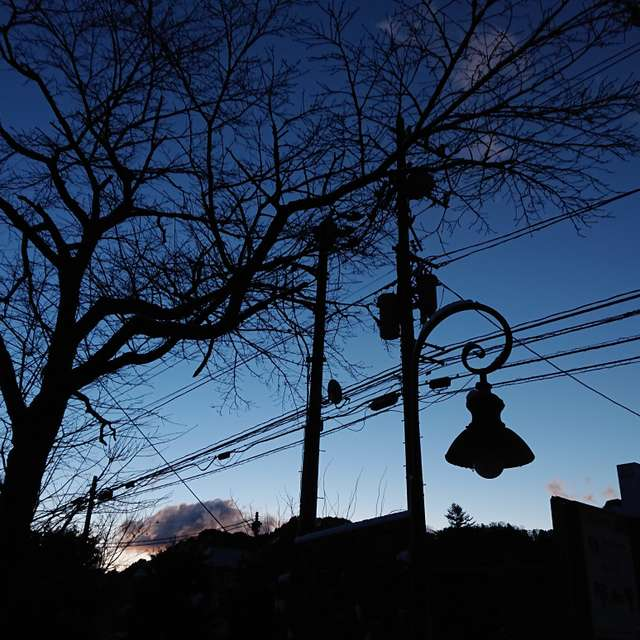 Night break in Nikko-city