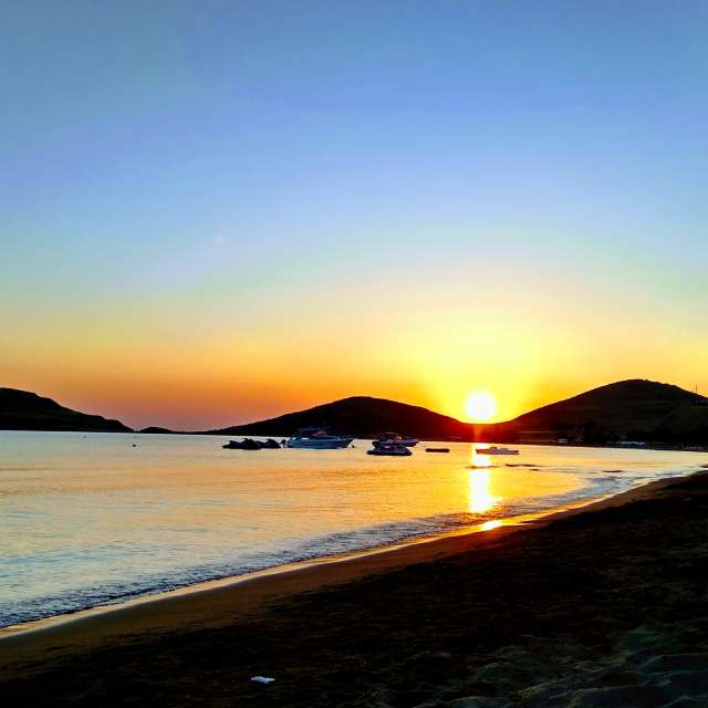 Sunset in.......limnos island