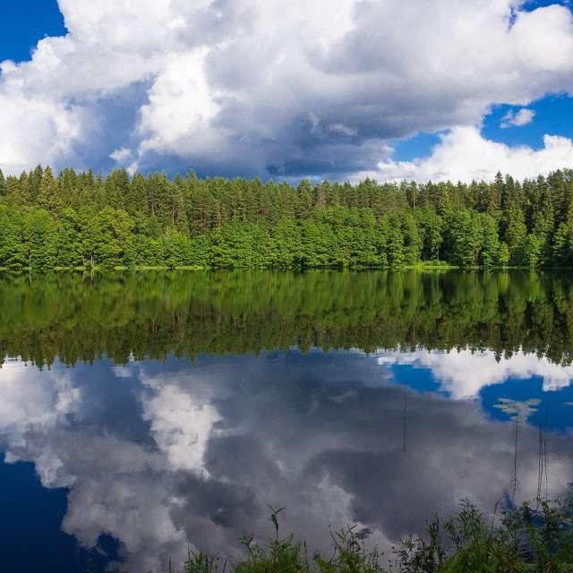 Озеро Щучье. Хачин.