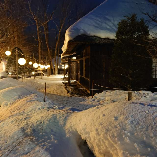 湯西川温泉 雪まつり