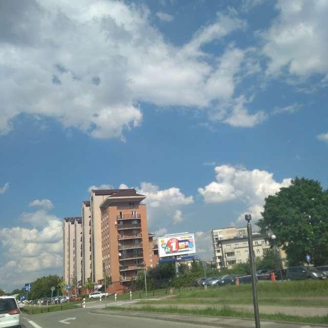 Warszawa w słońcu