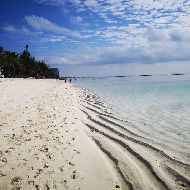 Beach in the Maledives