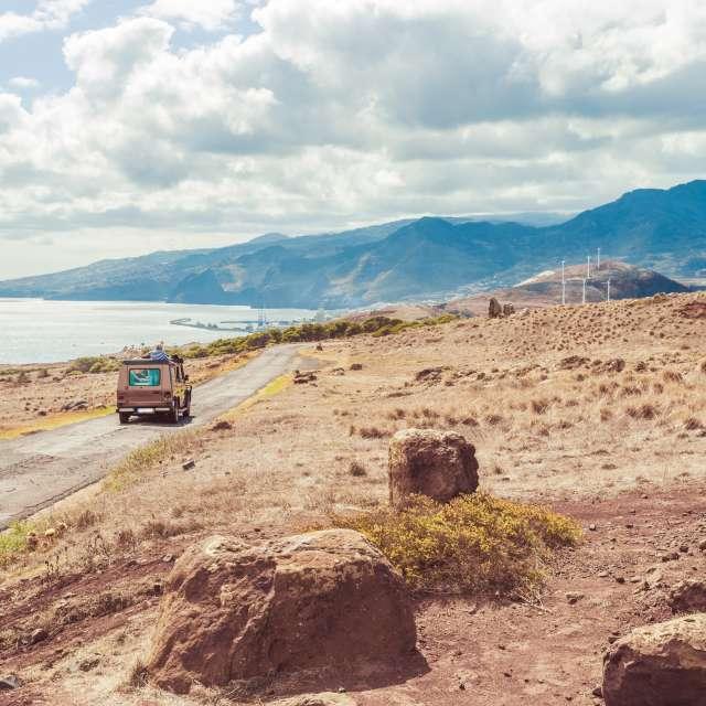 turistas na Ilha da Madeira