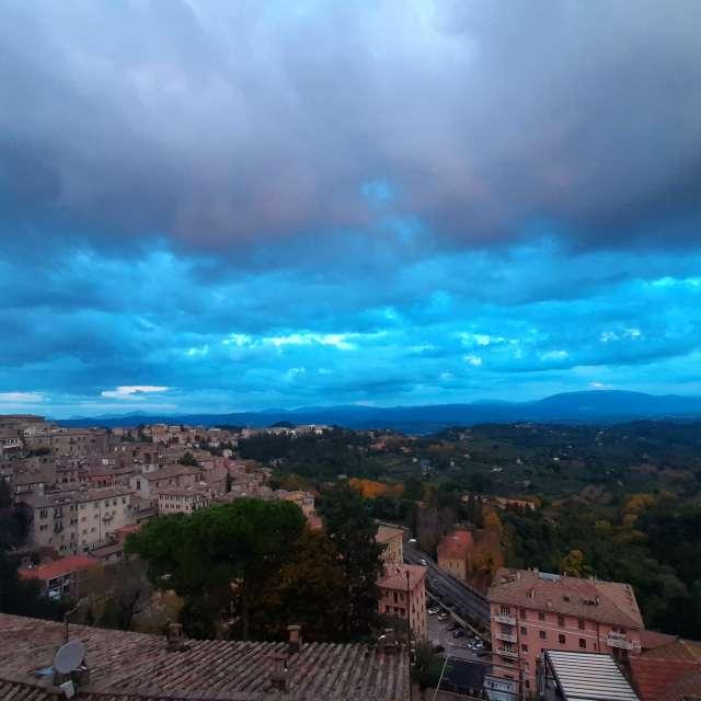 Sunrise blue clouds beautiful