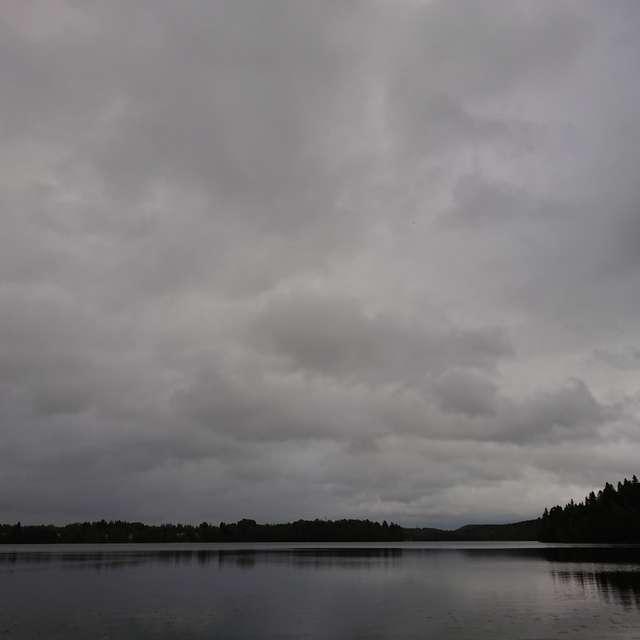 Noon and rain