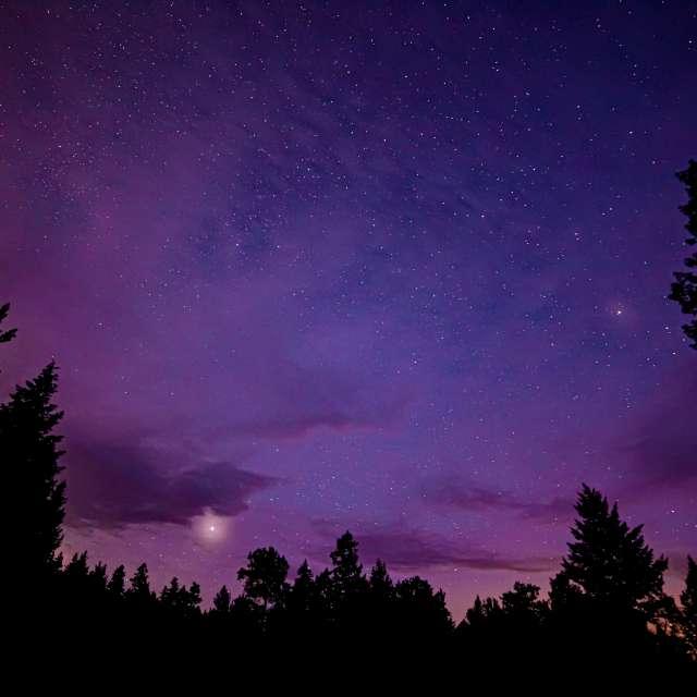 Stars, Nicola Valley, BC, CA