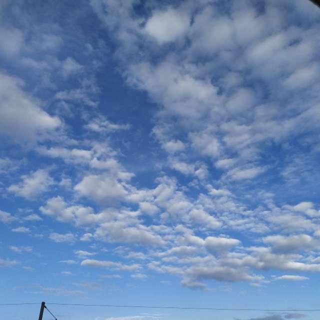 Printemps nuageux soirée