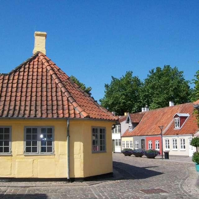 Andersen's house in Denmark