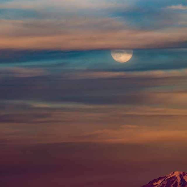 Super Moonrise, BC, Canada