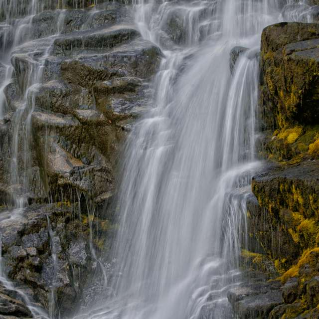 Waterfall, Squamish Valley, BC